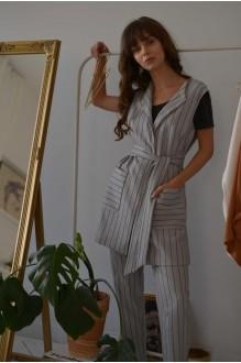 Брючные костюмы /комплекты PUR PUR 01-603 серый фото 2