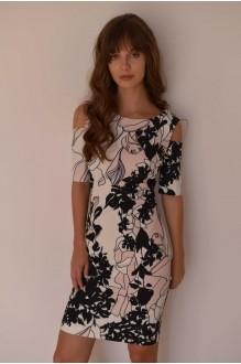 Повседневные платья PUR PUR 01-589 белый с принтом фото 2