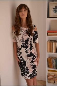 Повседневные платья PUR PUR 01-589 белый с принтом фото 3
