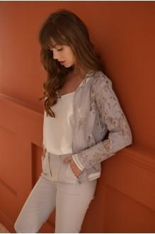 Брючные костюмы /комплекты PUR PUR 01-599 серый фото 4