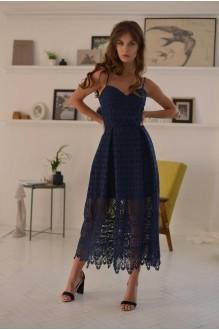 Платья на выпускной PUR PUR 01-601 синий фото 1