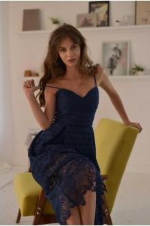 Платья на выпускной PUR PUR 01-601 синий фото 2