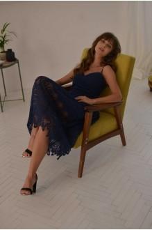 Платья на выпускной PUR PUR 01-601 синий фото 3