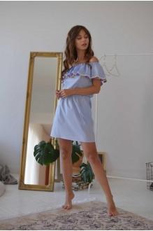 Летние платья PUR PUR 01-608 небесно-голубой фото 2