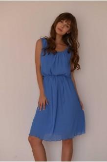 Летние платья PUR PUR 01-568 голубой фото 1