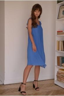 Летние платья PUR PUR 01-568 голубой фото 2