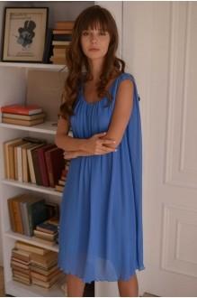 Летние платья PUR PUR 01-568 голубой фото 4