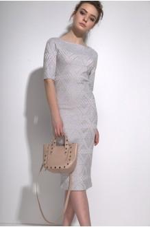 Платья на выпускной PUR PUR 01-587 серо-голубой фото 2