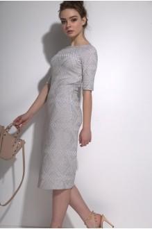 Платья на выпускной PUR PUR 01-587 серо-голубой фото 3