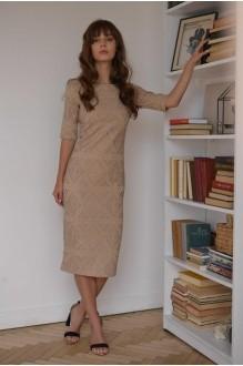Платья на выпускной PUR PUR 01-587 бежевый фото 2