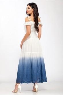 Сарафаны ЛаКона 1126/1 белый с синим фото 2