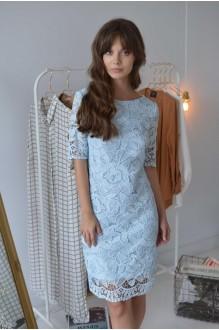 Платья на выпускной PUR PUR 01-581 голубой фото 2