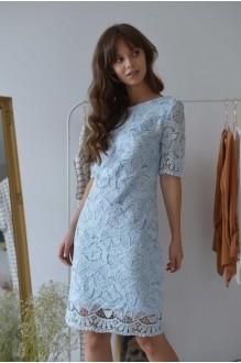 Платья на выпускной PUR PUR 01-581 голубой фото 3