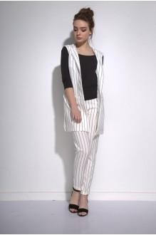 Брючные костюмы /комплекты PUR PUR 01-582 белый фото 2