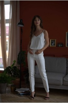 Брючные костюмы /комплекты PUR PUR 01-599 белый фото 2