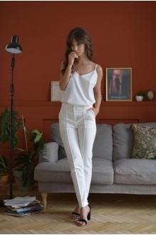 Брючные костюмы /комплекты PUR PUR 01-599 белый фото 3