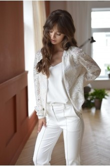 Брючные костюмы /комплекты PUR PUR 01-599 белый фото 5