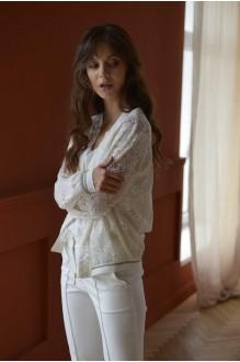 Брючные костюмы /комплекты PUR PUR 01-599 белый фото 6