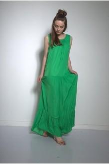 Длинные платья, платья в пол PUR PUR 01-569 зеленый фото 2