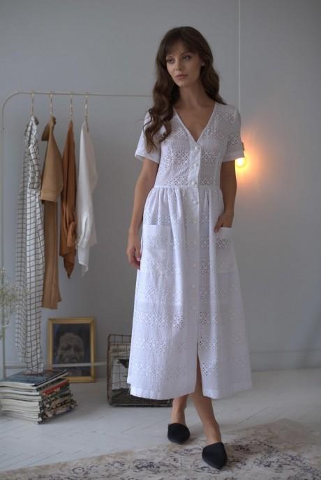 Повседневные платья PUR PUR 01-602 белый