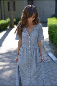 Повседневные платья PUR PUR 01-602 светло-голубой фото 3