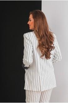 Брючные костюмы /комплекты Elletto 5017 молочный фото 6