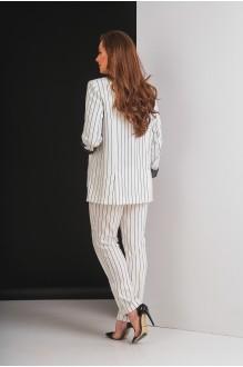 Брючные костюмы /комплекты Elletto 5017 молочный фото 7
