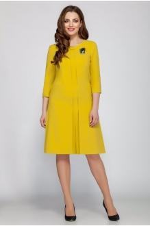 Повседневные платья Beautiful&Free 1403 горчица фото 1