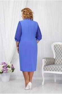 Вечерние платья Нинель Шик 5650 светлый василек фото 2