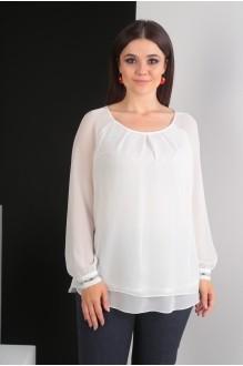 Блузки и туники Мода-Юрс 2359 молочный фото 3