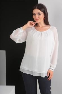 Блузки и туники Мода-Юрс 2359 молочный фото 4