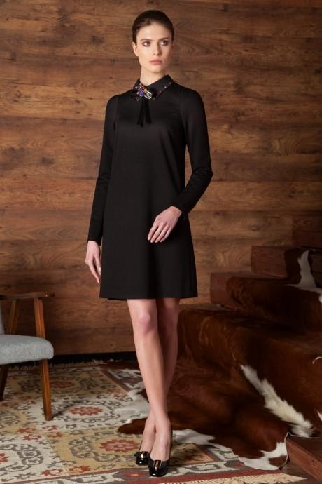 Деловые платья Nova Line 5751 чёрный