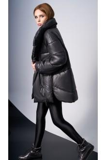 Куртки DiLiaFashion 0123 -1 чёрный фото 2