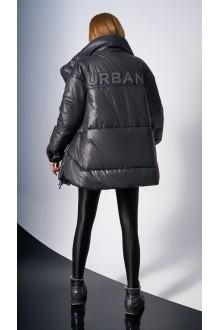 Куртки DiLiaFashion 0123 -1 чёрный фото 3