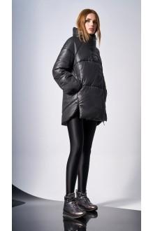 Куртки DiLiaFashion 0123 -1 чёрный фото 4