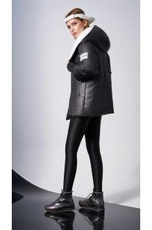Куртки DiLiaFashion 0125 -1 чёрный фото 2