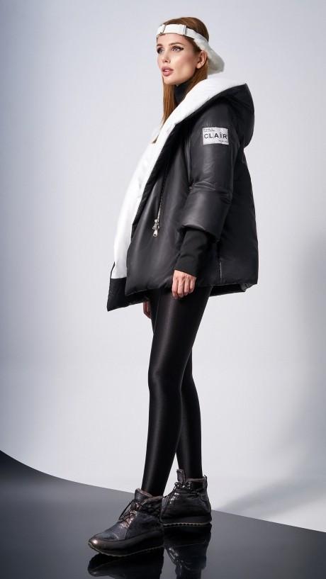 Куртки DiLiaFashion 0125 -1 чёрный