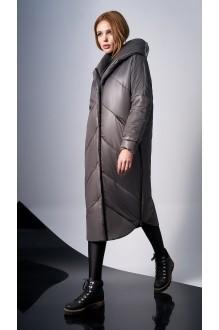 Пальто DiLiaFashion 0127 -1 капучино фото 2