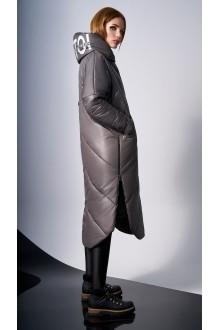 Пальто DiLiaFashion 0127 -1 капучино фото 3