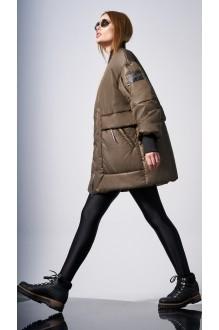 Куртки DiLiaFashion 0128 -1 хаки фото 4