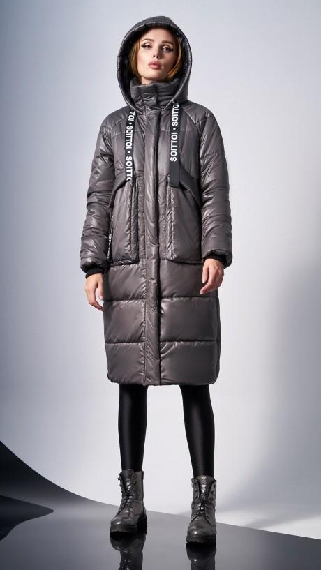 Пальто DiLiaFashion 0129 -1 капучино