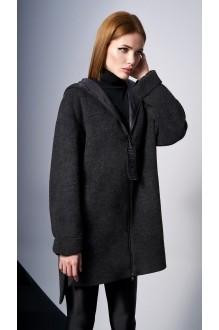 Пальто DiLiaFashion 0132 -1 чёрный фото 2