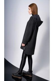 Пальто DiLiaFashion 0132 -1 чёрный фото 3