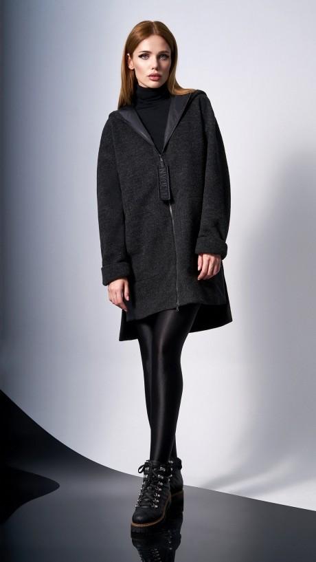 Пальто DiLiaFashion 0132 -1 чёрный