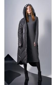 Повседневные платья DiLiaFashion 0148 -1 серый фото 2