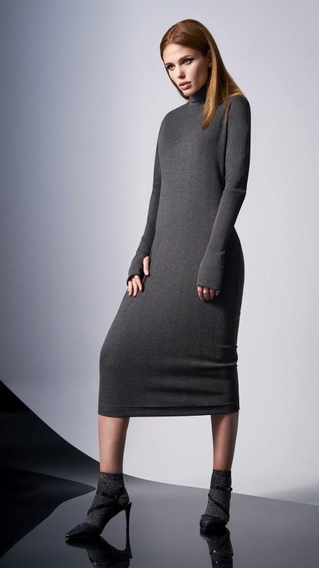 Повседневные платья DiLiaFashion 0148 -1 серый