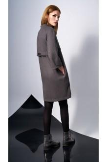 Повседневные платья DiLiaFashion 0131 -2 серо-коричневый фото 3