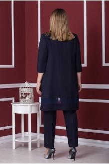 Брючные костюмы /комплекты Надин-Н 1537 темно-синий фото 3