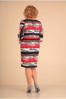 Повседневные платья VIOLA STYLE 0784 коричневый фото 2