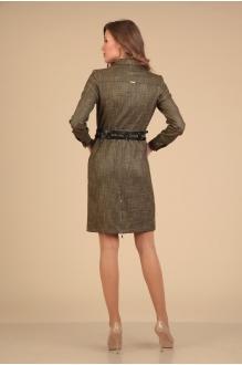 Повседневные платья VIOLA STYLE 0775 коричневый фото 2